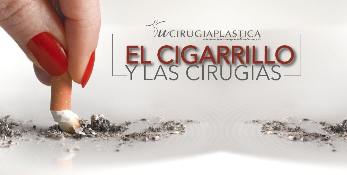 EL CIGARRILLO Y LA CIRUGÍA ESTÉTICA